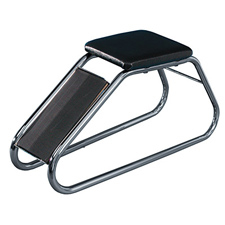 Chrome shoe fitting stool