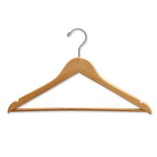 """17"""" Flat suit hanger"""
