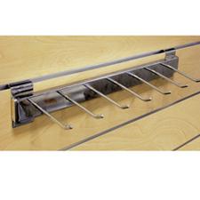 Belt/Tie display chrome finish