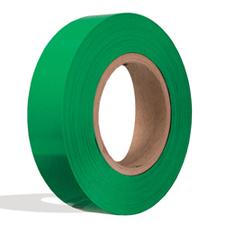Green plastic insert for slatwall