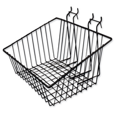 Wire basket black finish
