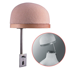 Hat holder for flex kid form