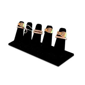 Five finger ring displayer