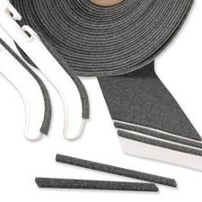 Adhesive foam pad strips