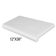 "Duron shelf (12""X 36"") gray finish"