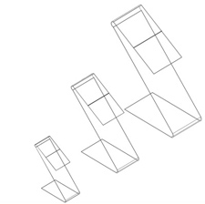 Acrylic Z-bend raisers