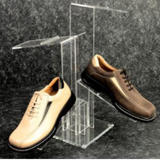 "20"" 4-Way counter top shoe display"