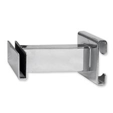 """3"""" Puck hangrail bracket in chrome  finish"""