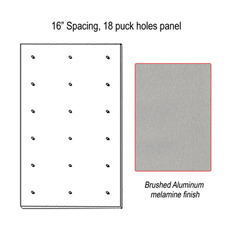 "16"" Spacing puck panel"