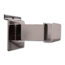 """3"""" Hangrail bracket chrome finish"""