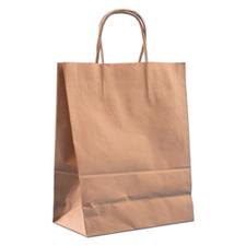 Traveler Kraft bag in brown