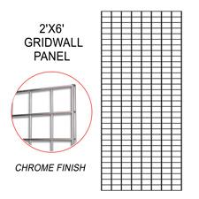 Chrome gridwall panel (2 X 6)