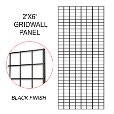 Black gridwall panel (2 X 6)