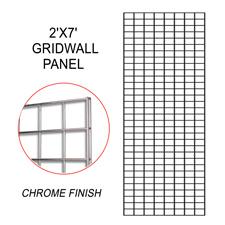 Chrome gridwall panel (2 X 7)