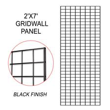 Black gridwall panel (2 X 7)