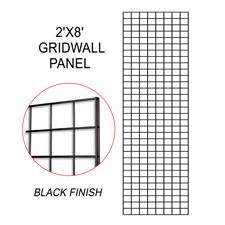 Black gridwall panel (2 X 8)