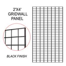 Black gridwall panel (2 X 4)