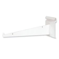 """12"""" Shelf bracket white finish"""