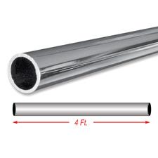 "4Ft. chrome 1 1/4"" round tubing"