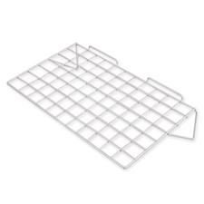 Straight wire shelf white finish