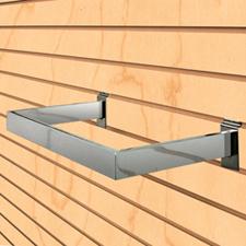U Shape hangrail chrome finish